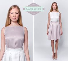 Pastel Shades, Pastel Colors, Classic Elegance, Going Out, Feminine, Play, Elegant, Dresses, Style