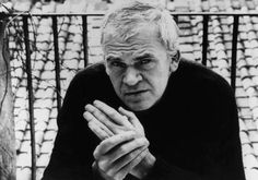 One of my favorite authors - Milan Kundera Louisa May Alcott, Charlotte Bronte, Milan Kundera, Roman, People Icon, Writers And Poets, Book Writer, Playwright, The Magicians