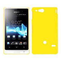 Hard Shell (Gul) Sony Xperia Go Deksel Sony Xperia, Shells, Conch Shells, Conchas De Mar, Sea Shells, Seashells, Shell
