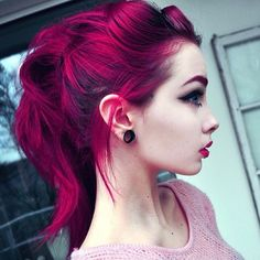 Purple hair is interesting and fun. Discover how to dye your hair purple and stand out from the crowd...