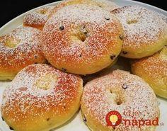 Tvarohové šišky ako dych, ktoré ani minútu nekysnú: Cesto samá bublinka, na panvici sa krásne nafúknu! Bagel, Bread, Food, Basket, Brot, Essen, Baking, Meals, Breads
