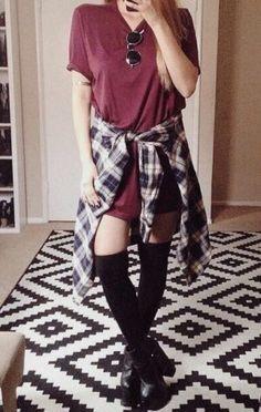 outfit grunge bonitos