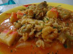 Doce Tentação: arroz de tamboril e camarão