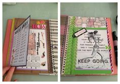 I love the idea of this weight loss smash journal!