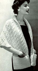 Free Vintage Knitting Pattern: Contralto Shawl