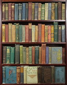 Distressed Vintage Cloth Books, sold by the foot! Great for Fairytale Wedding Centerpieces