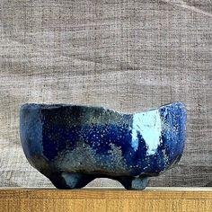 Handmade pots for bonsai trees for sale by swedish bonsai pot maker Thor Holvila.