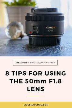 Today I'm going to share some tips for using the Canon 50mm F1.8 lens. I know that many of you will have this lens, because it's probably the one that most people go for when upgrading from their kit lens. When I first got this lens a few years ago, I would hear about the quality of it for the price and how tack-sharp my images were going to be, but they weren't, in fact every single one looked downright soft! So the lens got shoved back into my camera bag and forgotten about. But not Histogram Photography, Dslr Photography Tips, Photography Words, Photography Tips For Beginners, Photography Lessons, Photography Tutorials, Digital Photography, Photography Business, Photography Themes