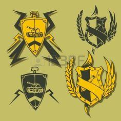 Znalezione obrazy dla zapytania military emblem
