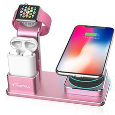 #YoFeW #ChargingStand for #AppleWatch, #iPhone and #AirPods