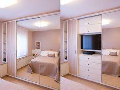Construindo Minha Casa Clean: Guarda-Roupa: Conheça os Modelos e Transforme o Visual do seu Quarto!