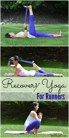 Sore or tired legs? Here's a running tip -Recovery yoga for runners is the perfect way to soothe tightmuscles and help improve running recovery. It's also great for anyone who just needstochill out and relax!