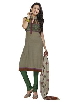 A Perfect Designer #Salwar Suits...which Looks So Pretty...!!  FREE SHIPPING | EASY RETURNS | CASH ON DELIVERY!!!  #Cotton dresses, #Kurtis, #Sarees, #Stitched suits.  Buy Here: http://www.ethnicqueen.com/eq/stitched-suits/