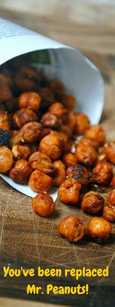 Spiced Chickpeas for Snacks.