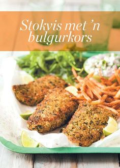 Hake with a bulgur crust Tandoori Chicken, Chicken Wings, Holiday Recipes, Yummy Food, Meat, Ethnic Recipes, Fish, Bulgur, Delicious Food