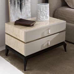 Rozzoni Mobili - Bedside tables Bora. Design Statilio Ubiali.