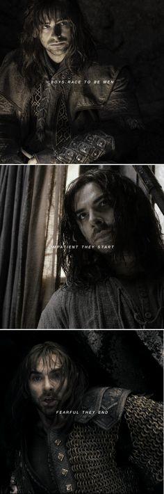 Kili: time and again #thehobbit