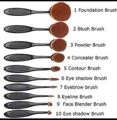 Pro-Oval-Brush-Cosmetic-Cream-Foundation-Puder-Contour-Blush-Make-up-Tool-Set - . - Pro-Oval-Brush-Cosmetic-Cream-Foundation-Puder-Contour-Blush-Make-up-Tool-Set – - Blush Makeup, Love Makeup, Skin Makeup, Awesome Makeup, Cheap Makeup, Contour Makeup, Contour Brush, Concealer Brush, Stunning Makeup