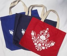 Matyo Flower Open Tote Home Textile, Coffee Mugs, Reusable Tote Bags, Felt, Textiles, Earth, Pretty, Flowers, Christmas