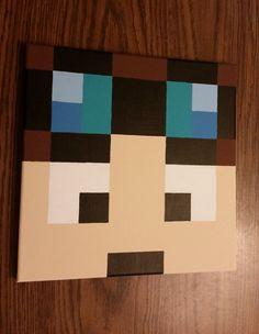 Dan TDM Diamond Minecart Minecraft bedroom by AligatorSampsonite