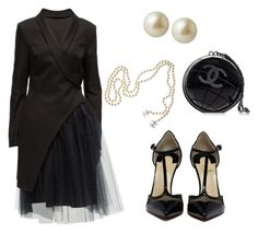 """""""Breakfast at Tiffany's"""" by thefazhionenthusiast on Polyvore featuring Lattori, Chanel, Carolee, women's clothing, women, female, woman, misses and juniors"""