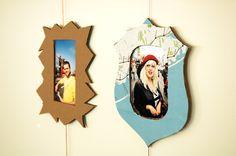 #decoracion #manualidades Como hacer marcos de cartón