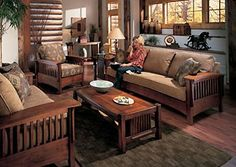 style living room on pinterest mission style furniture living rooms