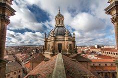 Scala Coeli - Desde la torre de La Clerecia, en la Universidad Pontificia de Salamanca