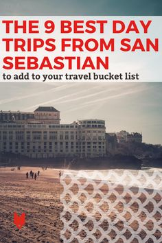 The Basque Country, and all of northern Spain, is full of gorgeous spots that should be on everyone's travel bucket list. With a beautiful aesthetic and fabulous food, it's well worth taking a one-day escape from cities like Donostia and Bilbao to explore. Here are our top picks for the best day trips from San Sebastian—all of which are close enough to get you back to the city in time to have the famous cheesecake for dessert. Spain Travel, Us Travel, Spanish Culture, Places In Europe, Basque Country, Bilbao, Granada, Day Trips, Trip Planning