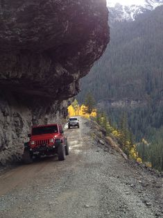 it s a jeep thing Ouray Colorado Jeep 4x4, Jeep Truck, Auto Jeep, Dodge Trucks, Lifted Trucks, Ouray Colorado, Jeep Trails, Dangerous Roads, Living In Colorado