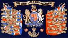 The Durham Light Infantry - James Henry Miller Military Units, Military History, Military Flags, Drums Art, Henry Miller, British Army, Durham, The Unit, Colours