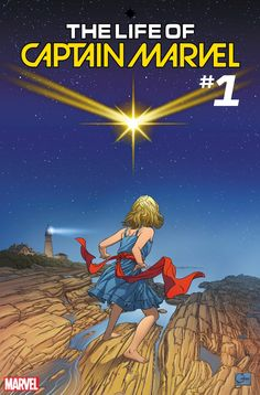 THE LIFE OF CAPTAIN MARVEL #1 Variant by Joe Quesada: Your First Look!