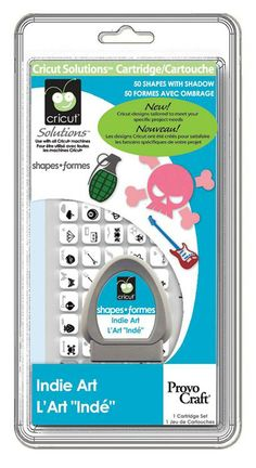 Cricut® Indie Art Solutions™ Cartridge