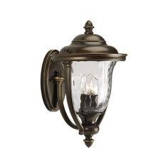 Progress Lighting Progress Oil Rubbed Bronze Outdoor Wall Light with White Glass | P5923-108 | Destination Lighting