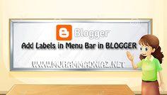 Add Labels in Menu Bar Logo