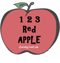 apple themed fine and gross motor activity