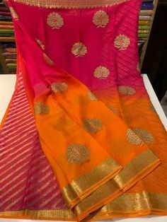 14 Attractive price of pure chiffon sarees. Buy Chiffon sarees at best price in siri designers. You will find chiffon saree with a price that will fit your budget. Chiffon Saree, Pure Georgette Sarees, Satin Saree, Indian Silk Sarees, Pure Silk Sarees, Banarsi Saree, Ethnic Sarees, Cotton Saree, Saree Blouse Patterns