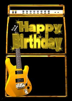 Happy Birthday Guitar Image Google Search Food Veggies