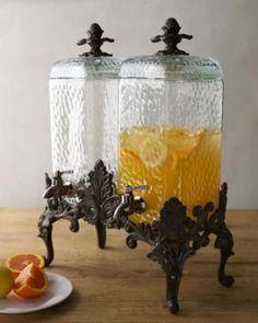 Vintage style beverage server
