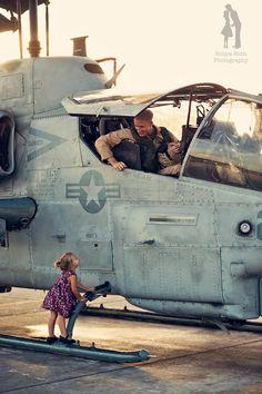 So precious! Father/daughter