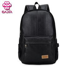 866362ccc335 Backpacks European and American style Solid high quality leather men  backpack shoulder bag Schoolbag computer Travel bag women backpack  AliExpress ...