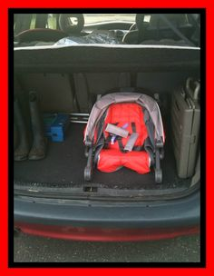 #EvoMini inside the boot of a Citreon Xsara Picasso #GracoBaby
