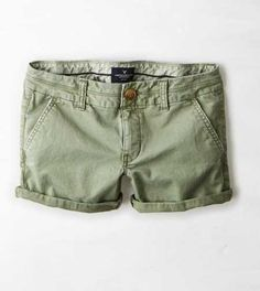 AEO Twill Midi Short - Buy One Get One 50% Off