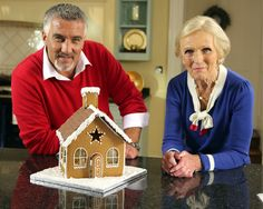 The Great British Christmas Bake Off
