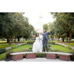 A #Baylor wedding isn't complete without a picture like this!