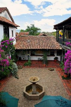 visitheworld:    Beautiful houses in Villa de Leyva, Colombia | by...