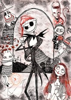Nightmare Before Christmas - The Red Christmas