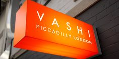 Frameless projecting light box by london sign makers - goodwin & goodwin. Shop Signage, Signage Design, Storefront Signage, Cafe Design, Logo Design, Signage Light, London Sign, Neon Box, Neon Licht