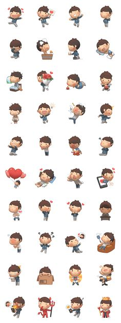 Joo's here to serve your everyday chatting needs! Cute, funny & lovely HJStory stickers for every occasions. Check out the other HJS stickers in the series!