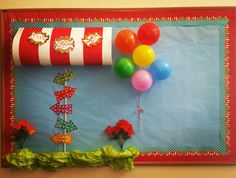 PTO Bulletin Board School Carnival